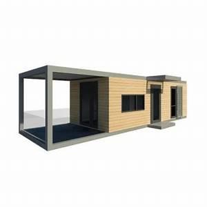Extension Maison Préfabriquée : maison modulaire pr fabriqu e usin e ~ Melissatoandfro.com Idées de Décoration