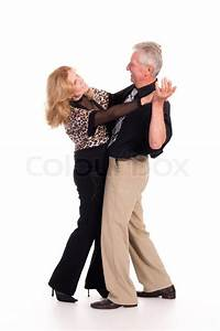Old couple dancing | Stock Photo | Colourbox