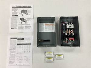 Square D Air Compressor Magnetic Starter 10hp Three Phase