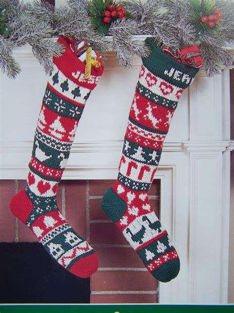 vintage christmas knitting crochet patterns poinsettia