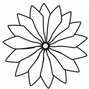 Black And White Flower Drawing | Clipart Panda - Free ...