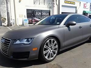 Dark Charcoal Metallic Car Paint.Audi A7 Matte Dark Grey ...