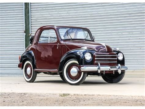 classic fiat topolino  sale  classiccarscom