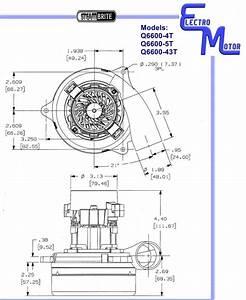 Electro Vacuum Motor Q6600