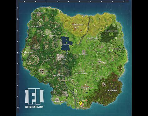vending machine locations  fortnite map update areas
