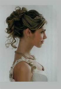 Chignon Cheveux Mi Long : chignon pour mariage cheveux mi long ~ Melissatoandfro.com Idées de Décoration