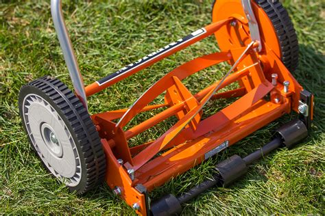 american lawn mower      blade push reel lawn