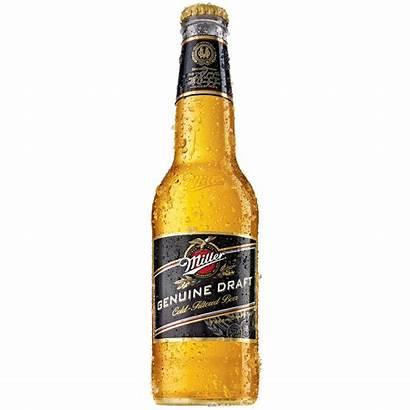 Miller Draft Genuine Lager Beer Bottle Oz