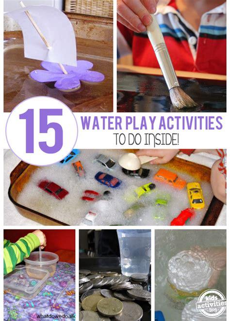 creative indoor water play ideas