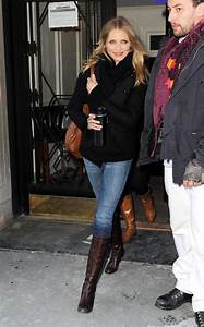 Jeans and Boots Celebrities in Jeans u0026 Boots u0026 Overknees ...