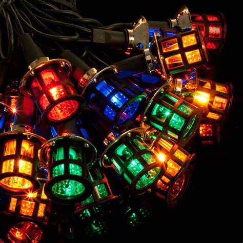 noma 174 40 victorian lanterns christmas lights multicolour