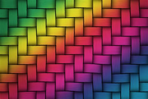 colorful rainbow colors weave twist texture background
