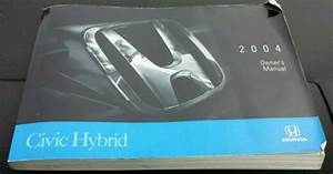 2004 Honda Civic Hybrid Owners Manual