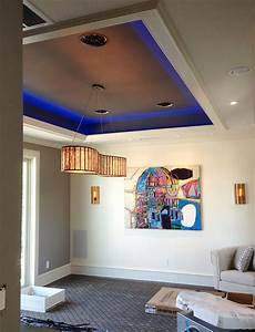 Interior LED Lighting using Warm White and RGB LED Strip ...