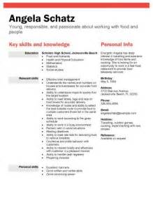 resumes for high students with no work experience template best 20 high resume template ideas on pinterest