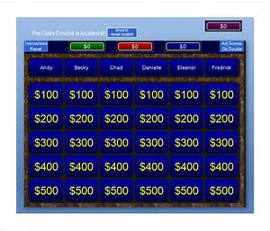 jeopardy template 36 free word excel ppt pdf format With powerpoint jeopardy template with scoring