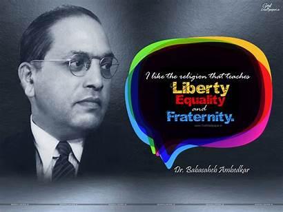 Ambedkar Jayanti Wallpapers Teaches Liberty Equality Happy