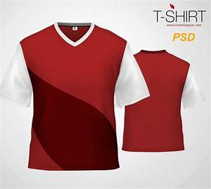 Collection of free photoshop psd t shirt mockup templates designfreebies for Psd tshirt template