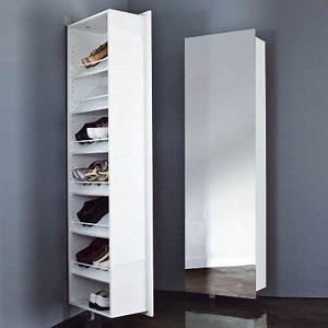 Meuble Chaussure 3 Suisses : meubles chaussures 3 suisses range chaussures pivotant avec miroir ventes pas en ~ Dallasstarsshop.com Idées de Décoration