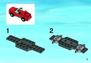 LEGO Instructions Sports Car