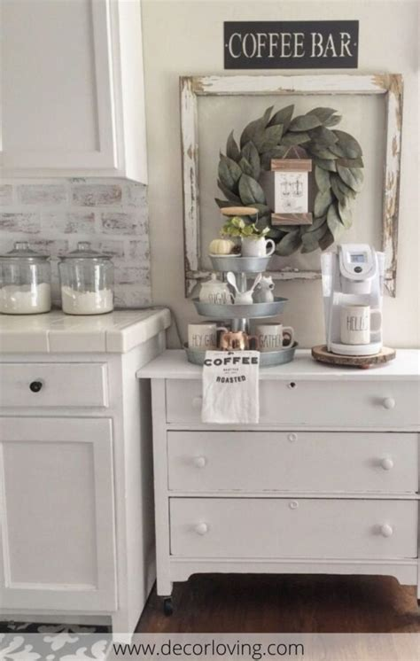 Try any of those to finish your cooking space. Cheap Decorating Ideas To Create A Small Coffee Corner In ...