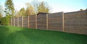 Prix D Une Cloture : palissade bois atouts et prix d 39 une palissade en bois ~ Dailycaller-alerts.com Idées de Décoration