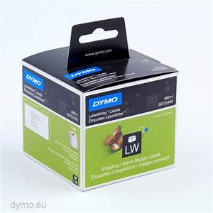 Dymo 99014 shipping name badge labels dymoeu for Dymo custom labels