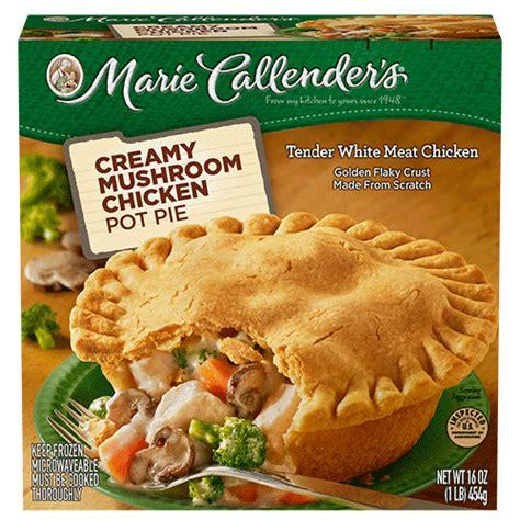 Creamy Mushroom Chicken Pot Pie   Marie Callender's
