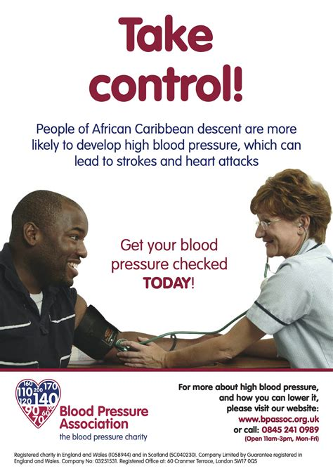 Free Blood Pressure Posters - Hypertension Education