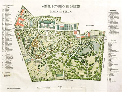 Botanischer Garten München Maps by Datei 1909 Botanischer Garten Plan Jpg