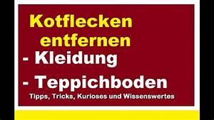 Teppichboden Entfernen Tipps : kotflecken effektiv aus kleidung teppich sofa textilien ~ Lizthompson.info Haus und Dekorationen