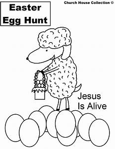 Easter Coloring Pages Jesus Is Alive