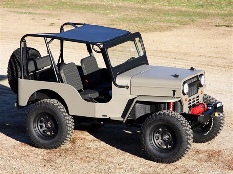 Icon CJ-3B ( based on Jeep CJ-3B ) 2010 - Mad 4 Wheels