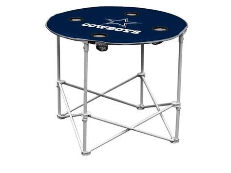 dallas cowboys folding table dallas cowboys logo chair portable round table logos