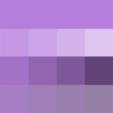 lavender shades hue pure color  tints hue