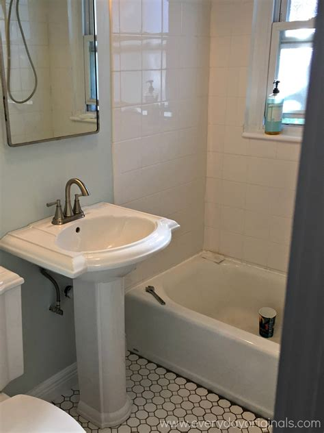 Removing Bathroom Vanity And Sink Removing A Bathroom Vanity Installing A Pedestal Sink