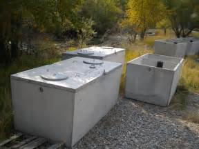 1500 Gallon Concrete Septic Tank
