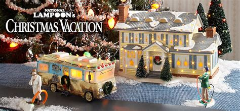 dept 56 christmas vacation village department 56 national loon s vacation gets snow