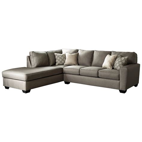 chaise b b volutive benchcraft calicho contemporary sectional with left chaise