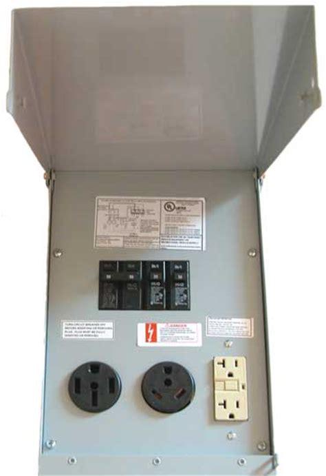 rv electrical pedestal rv power pedestals un metered electrical materials company
