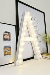 How to decorate with diy marquee letters blissfully domestic for Movie marquee letters