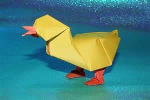 Paper Duck Origami
