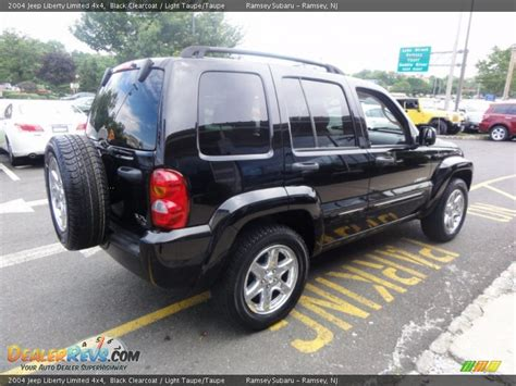 jeep liberty limited 2004 2004 jeep liberty limited 4x4 black clearcoat light