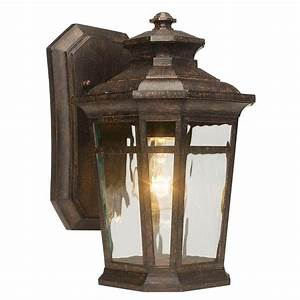 Home Decorators Collection Waterton 1-Light Dark Ridge