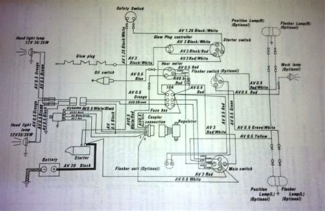 Kubota Wiring Schematic Together With