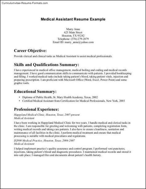 Narrative Resume Sles by Narrative Resume Template Free Sles Exles