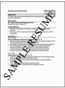 simple resume writing templates ten tips on writing a With how to write a basic resume for a job
