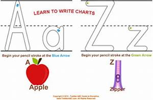 tracing letters a z new calendar template site With teaching toddlers to write letters