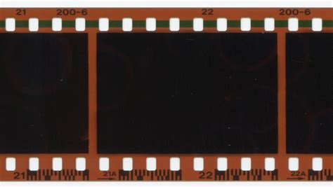 35mm film advancing stock footage video 2570243