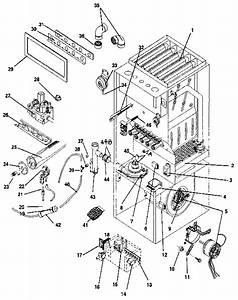 Icp Nugk125dk09 Furnace Parts